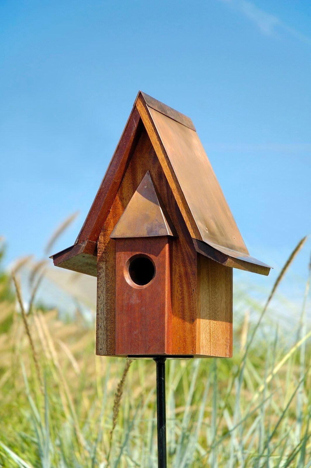 Mahogany Birdhouse Product Photo