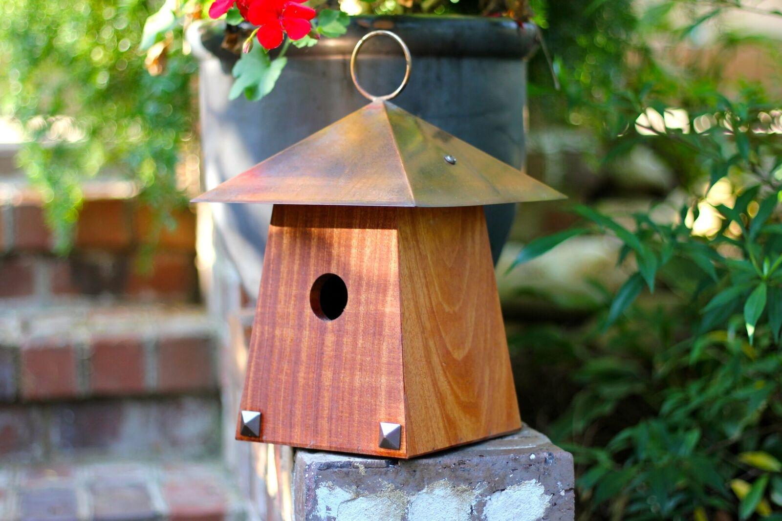 Bungalow Birdhouse Mahogany Product Photo
