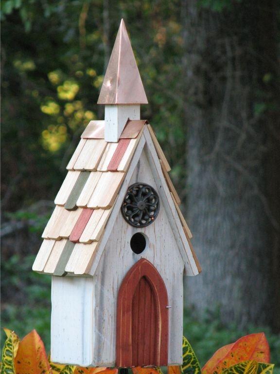 Birdhouse White Product Photo