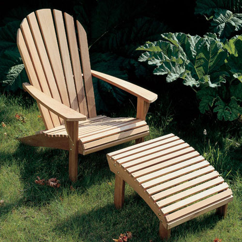 Adirondack Teak Armchair Product Photo