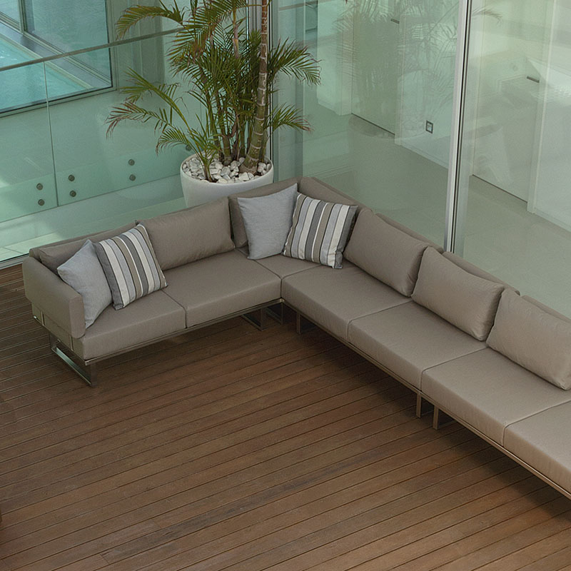 Double Deep Seating Middle with Backrests Only Product Photo