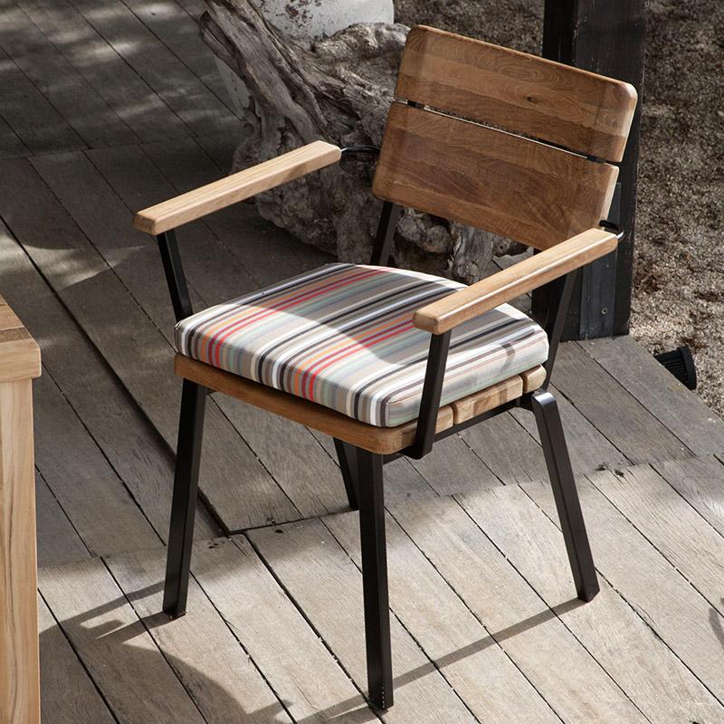 Teak Dining Armchair Product Photo