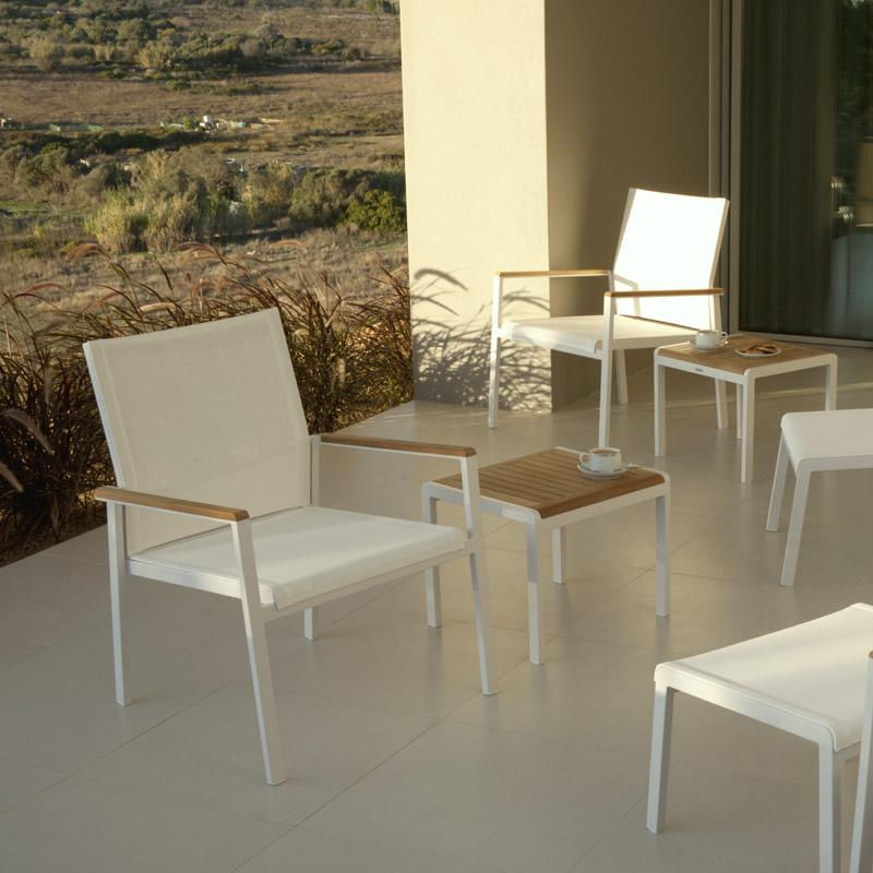 Teak Side Table Product Photo