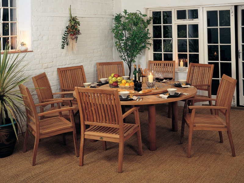 Teak Dining Ensemble Product Photo