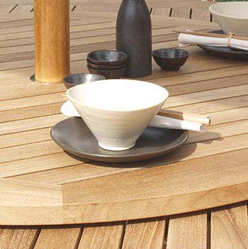 Teak Dining Table Product Photo