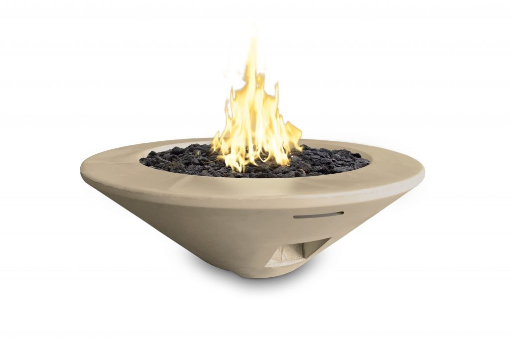 Round Cone Fire Bowl Product Photo
