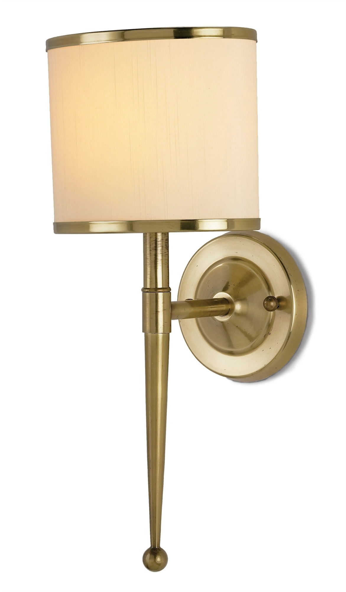 Currey Company Primo Brass Wall Sconce