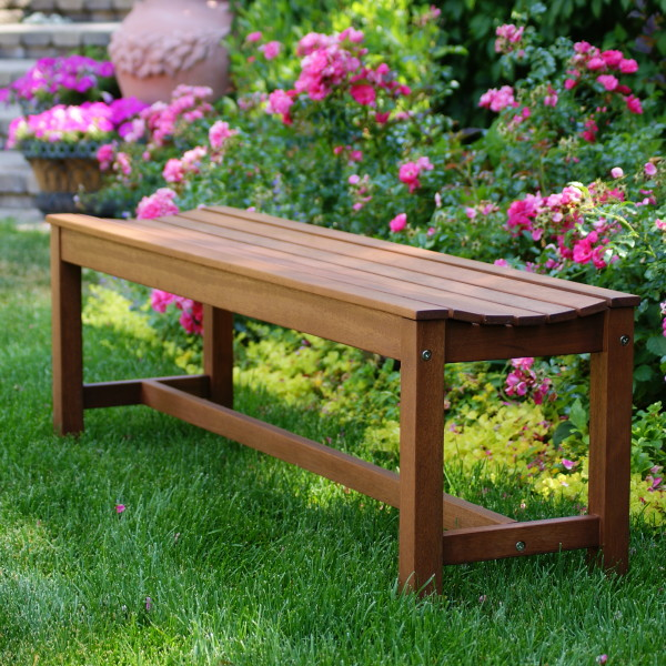 Backless Curved Bench Product Photo