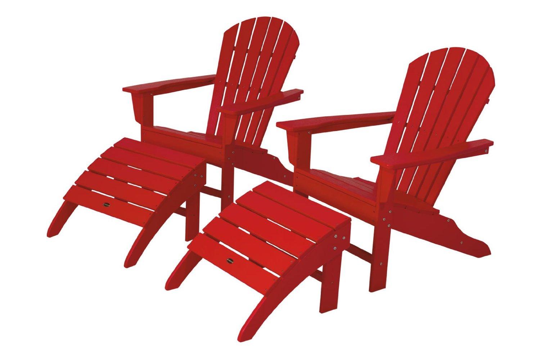 Adirondack Chair Ottoman Set Product Photo