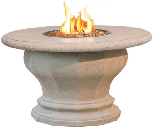 Inverted Dining Fire Pit Table Top Product Photo