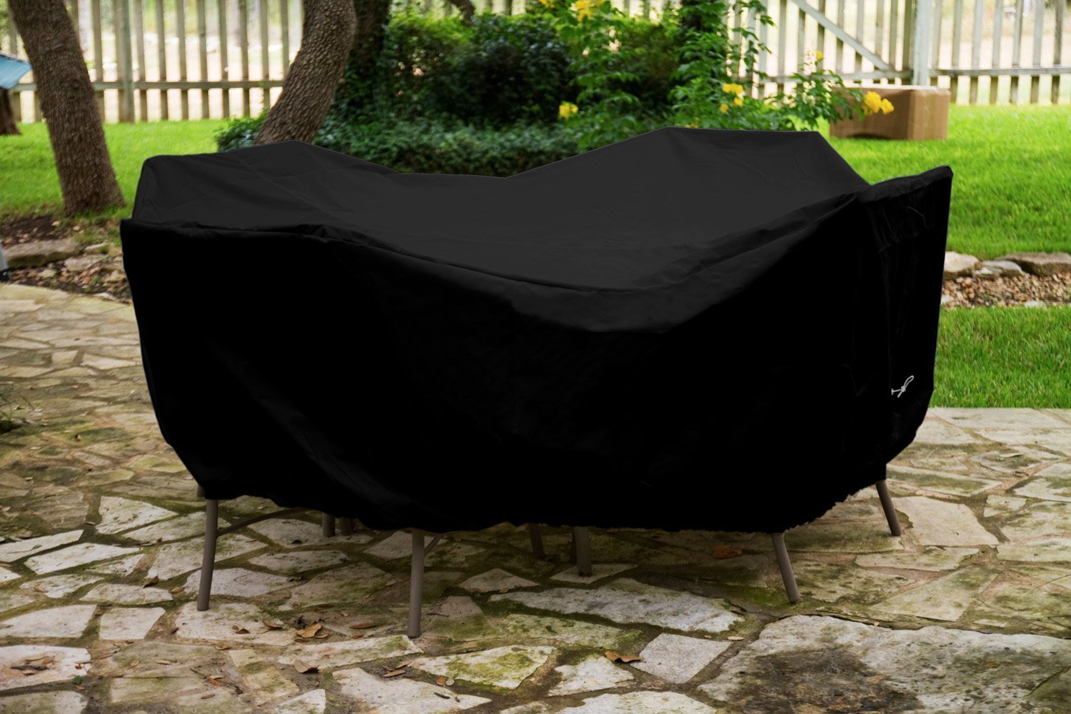Dining Set Cover Black Product Photo