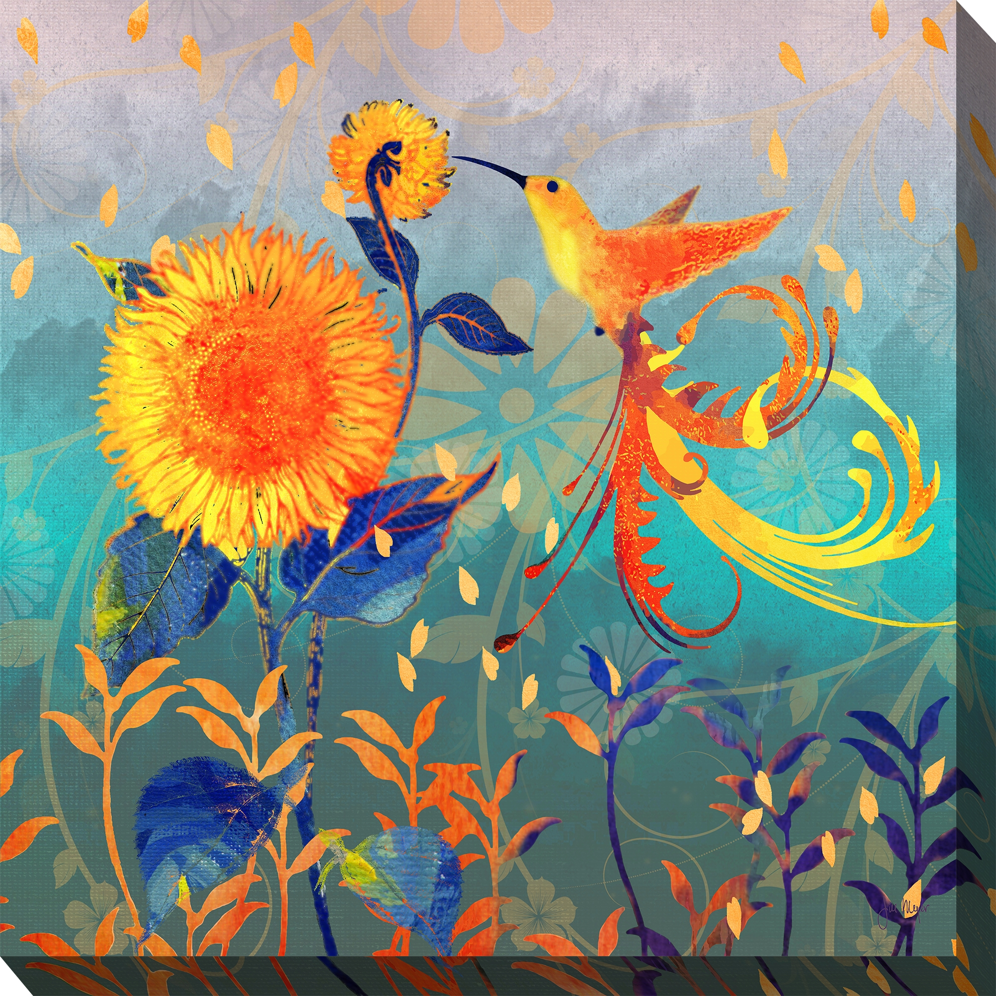 Canvas Wall Art Fancy Flight