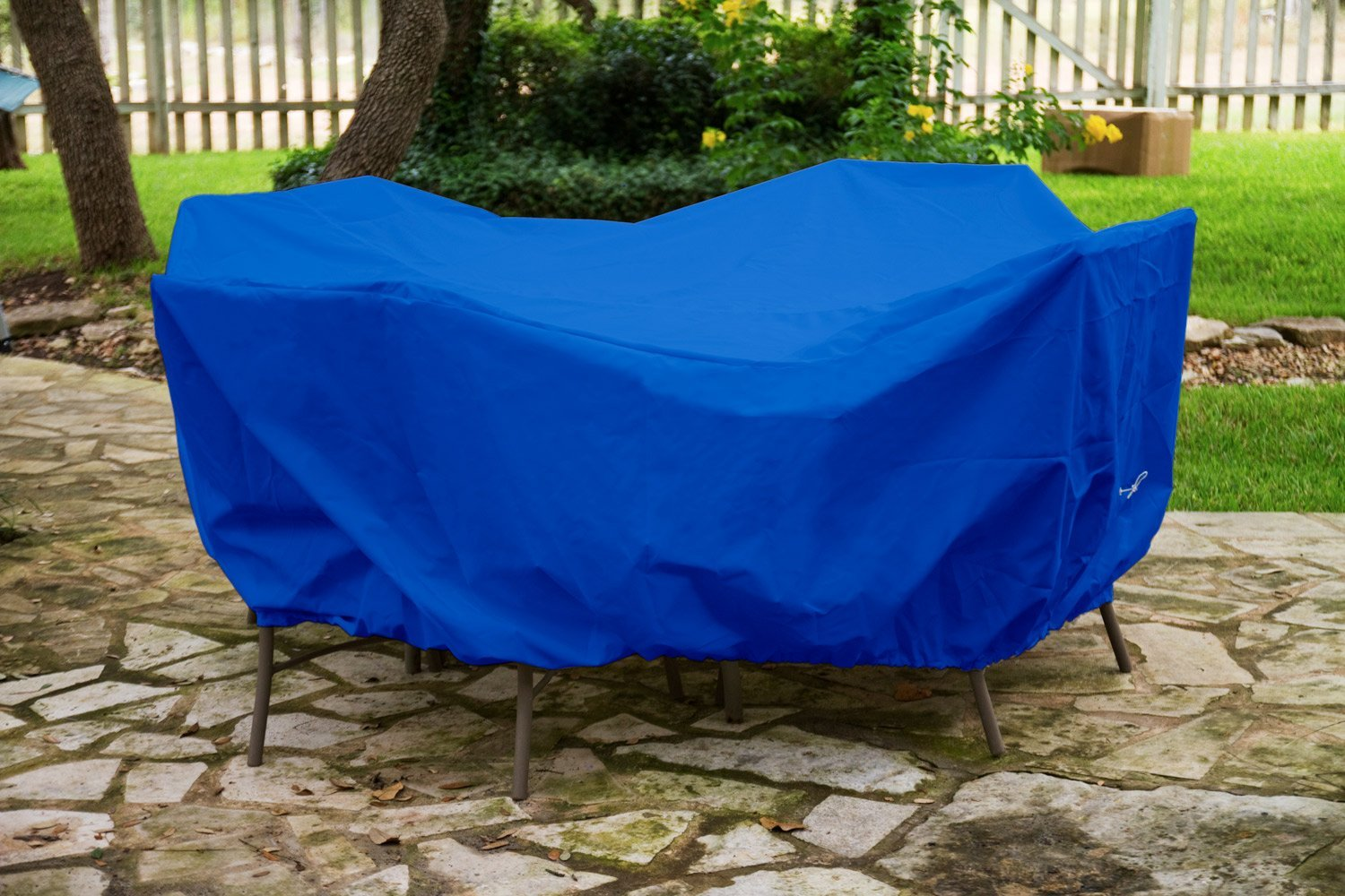 Dining Set Cover Blue Pic