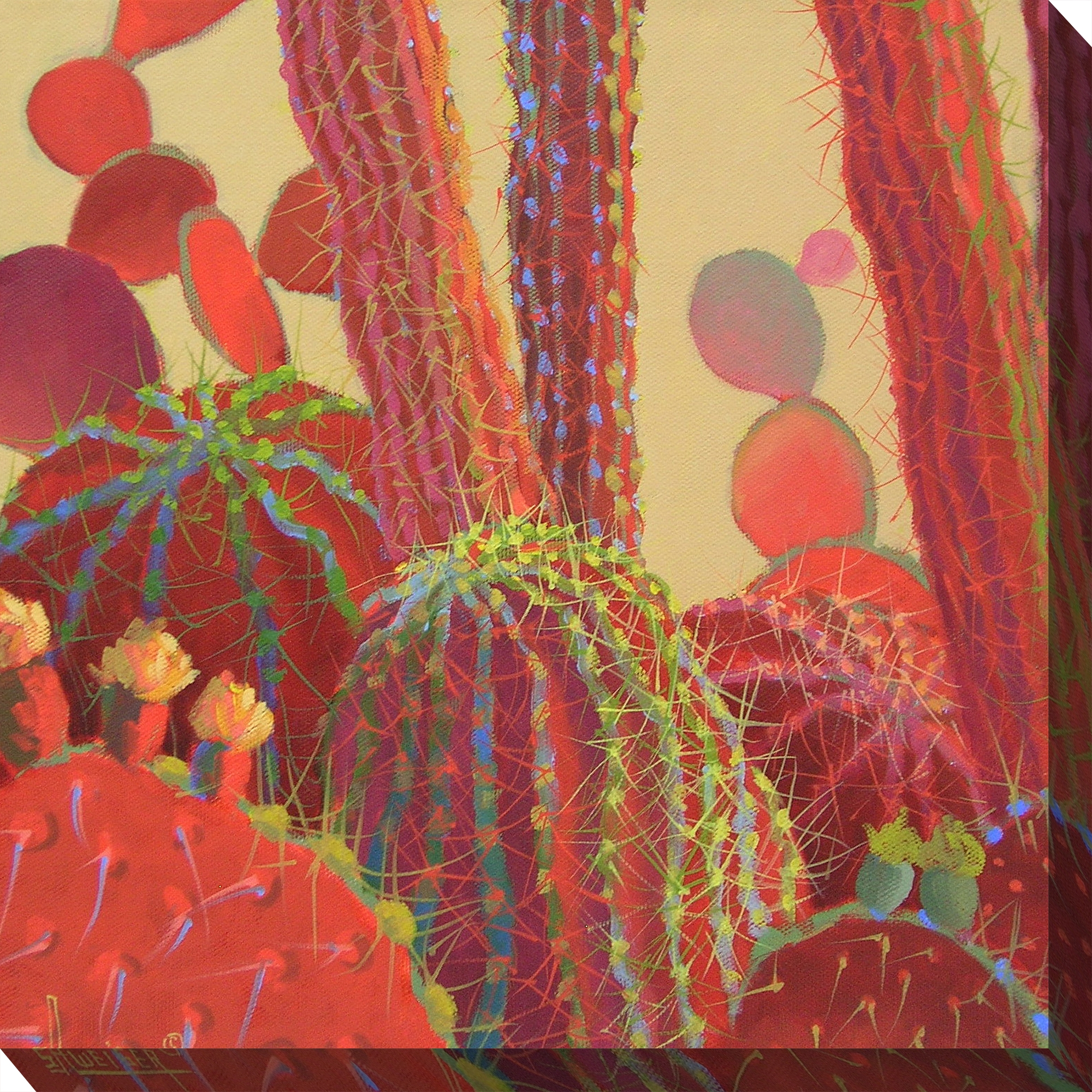 Canvas Wall Art Desert Blooms Product Photo