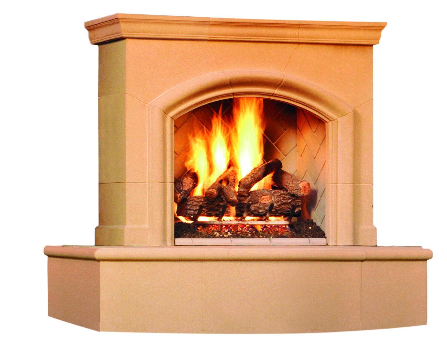 Fireplace Back Venting Product Photo