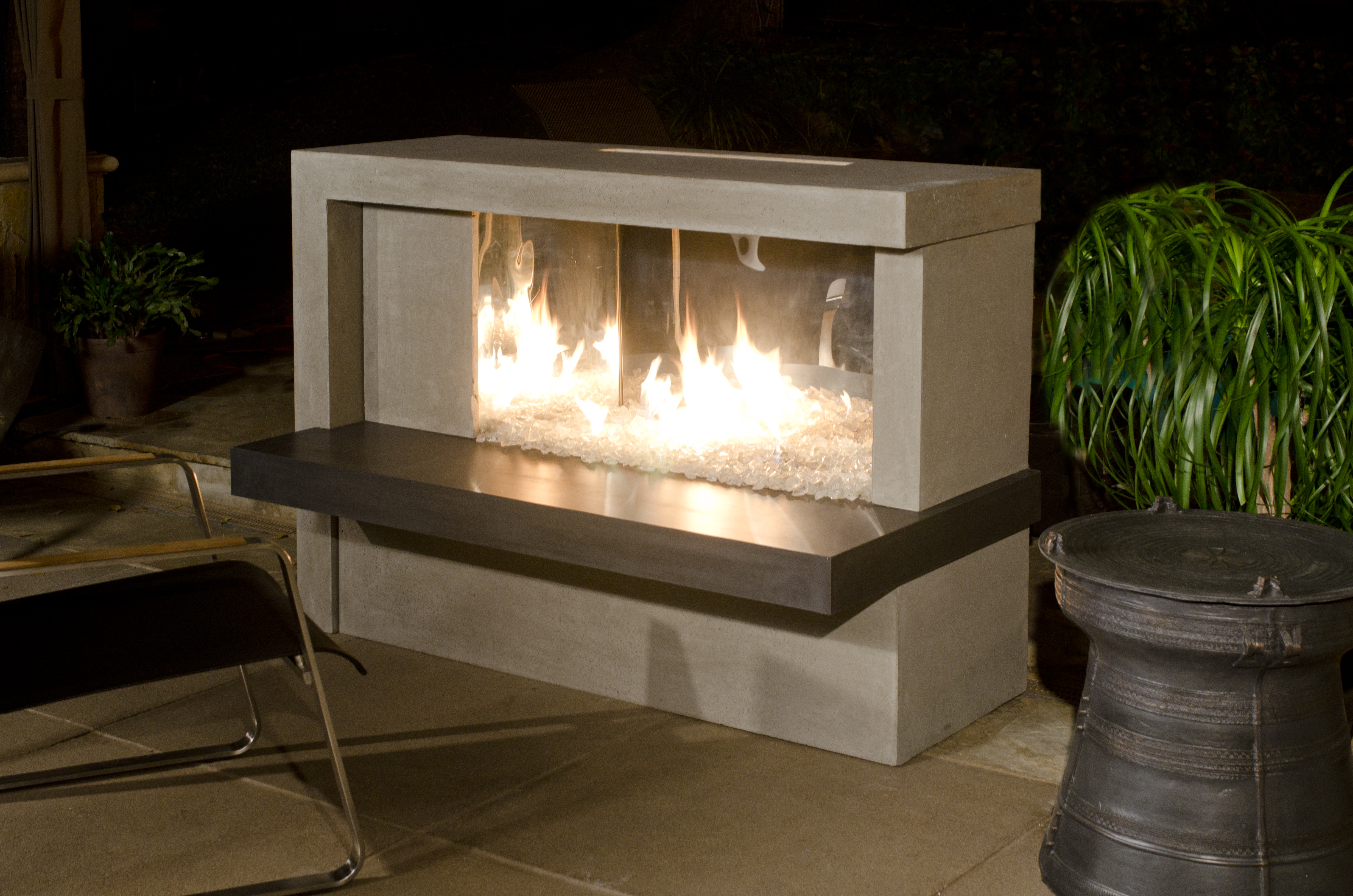 Manhattan Fireplace Stainless Stee Firebox Product Photo