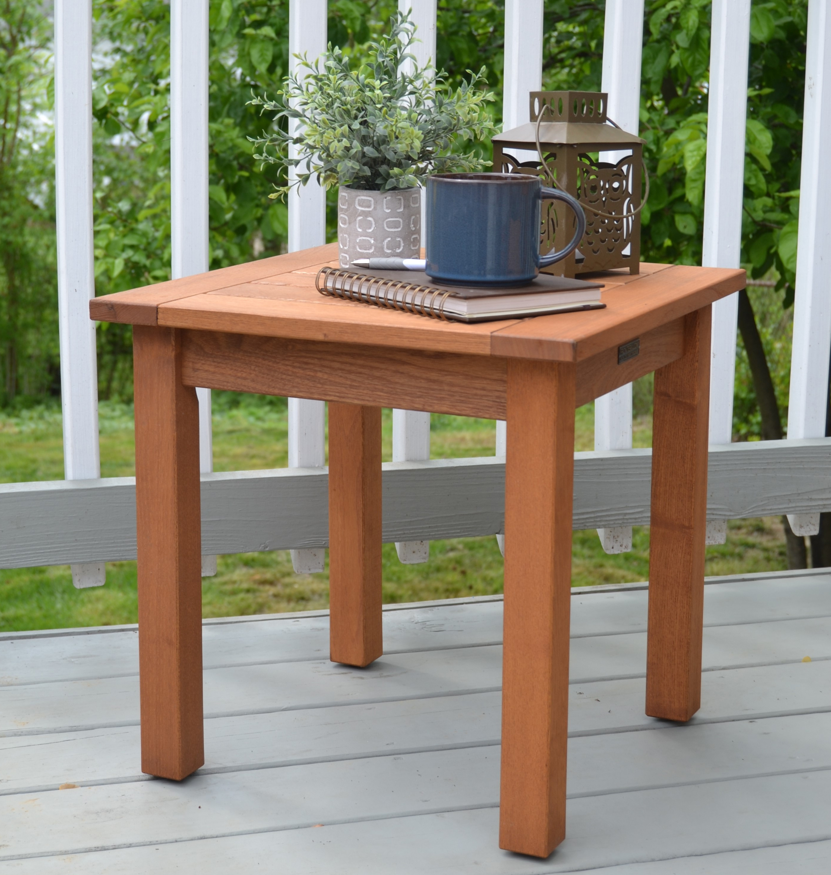 Americana Side Table Natural Oil