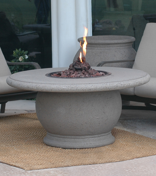 Round Firetable Top Product Photo