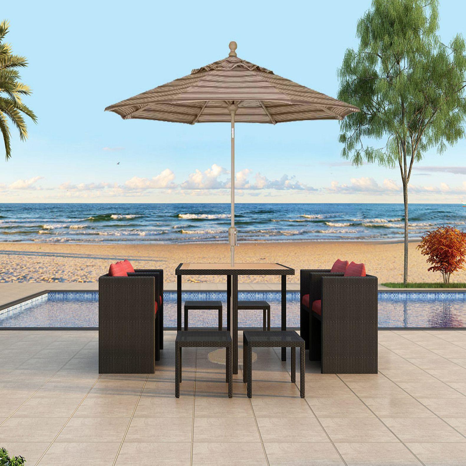 Center Tilt Umbrella Product Photo