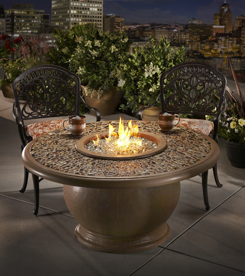 Artisan Top Fire Pit Table Product Photo