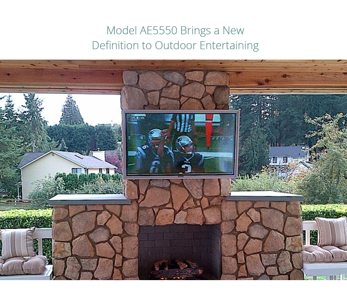 Apollo Outdoor Weatherproof TV Enclosures for 60 65 TVs