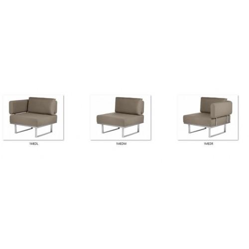 Barlow Tyrie Mercury Deep Seating 3 Seater Sofa Cover