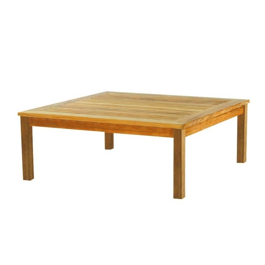 Kingsley Bate Classic Teak 43.5 Square Coffee Table