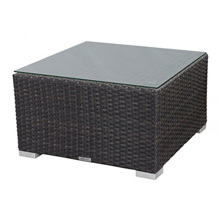 Source Outdoor St Tropez Wicker Coffee Table Square By