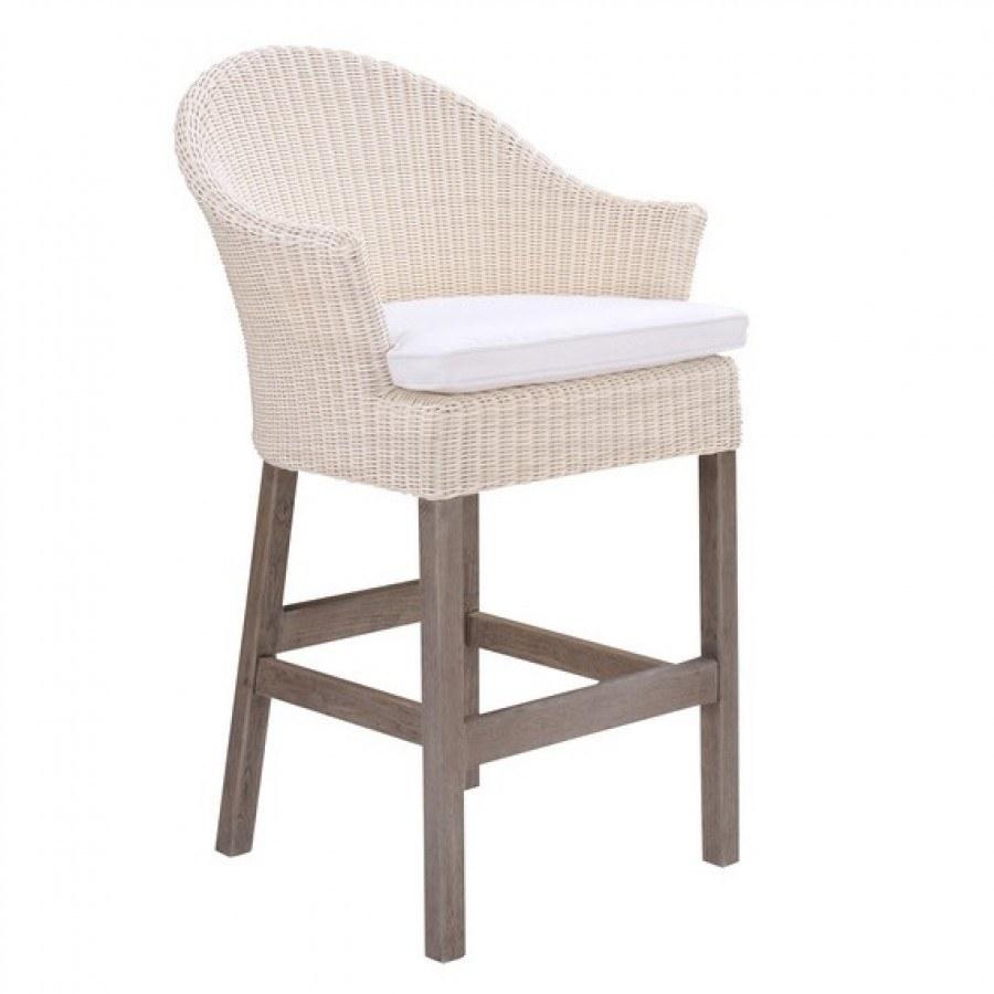 Kingsley Bate Cape Cod Wicker Bar Chair By Kingsley Bate