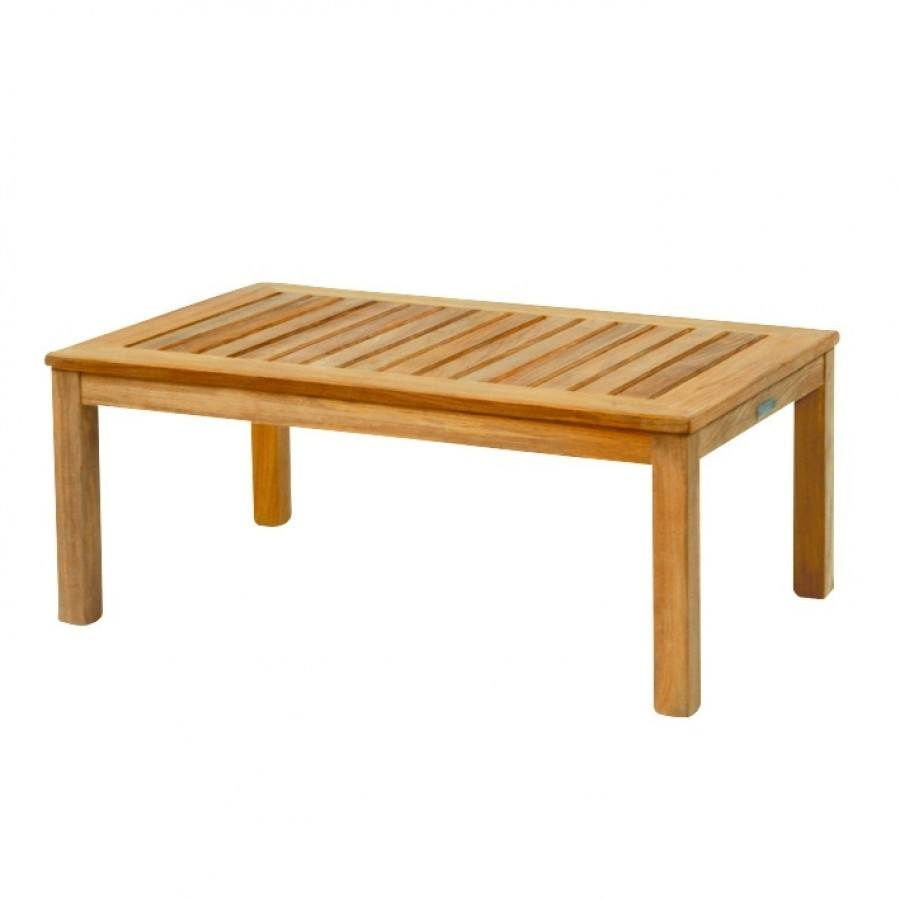 Kingsley Bate Classic Teak Coffee Table 38 x 25