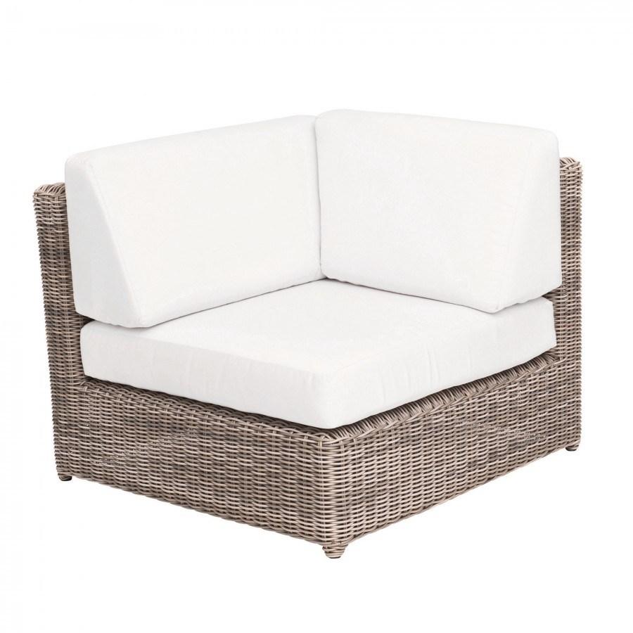Sag Harbor Woven Sectional Corner Chair