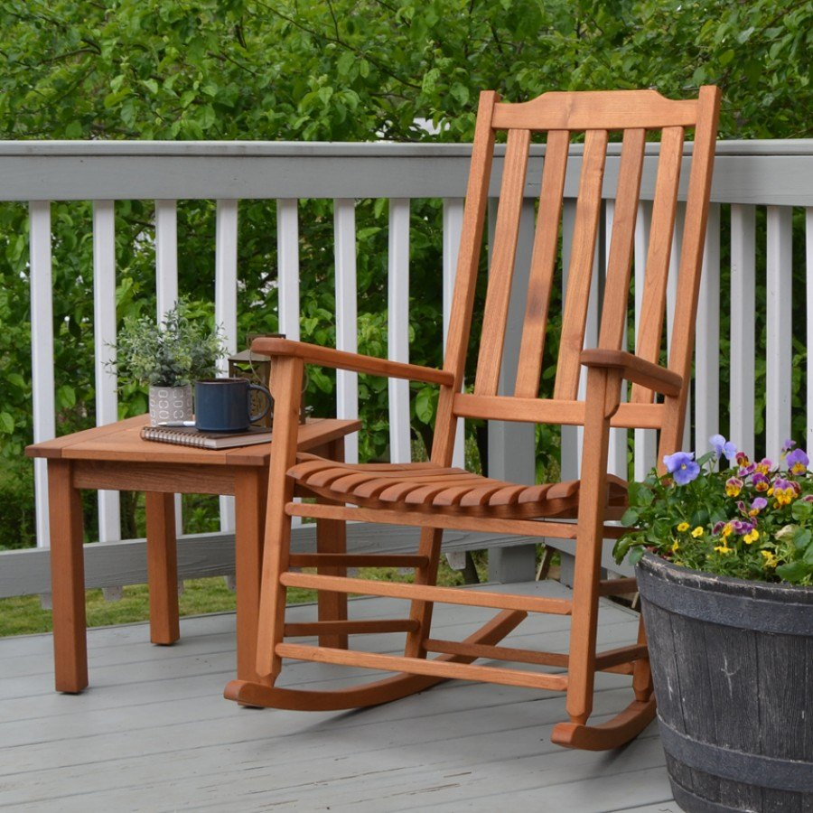 Americana Rocker - Natural Oil - REDUCED by Frontera Furniture Company