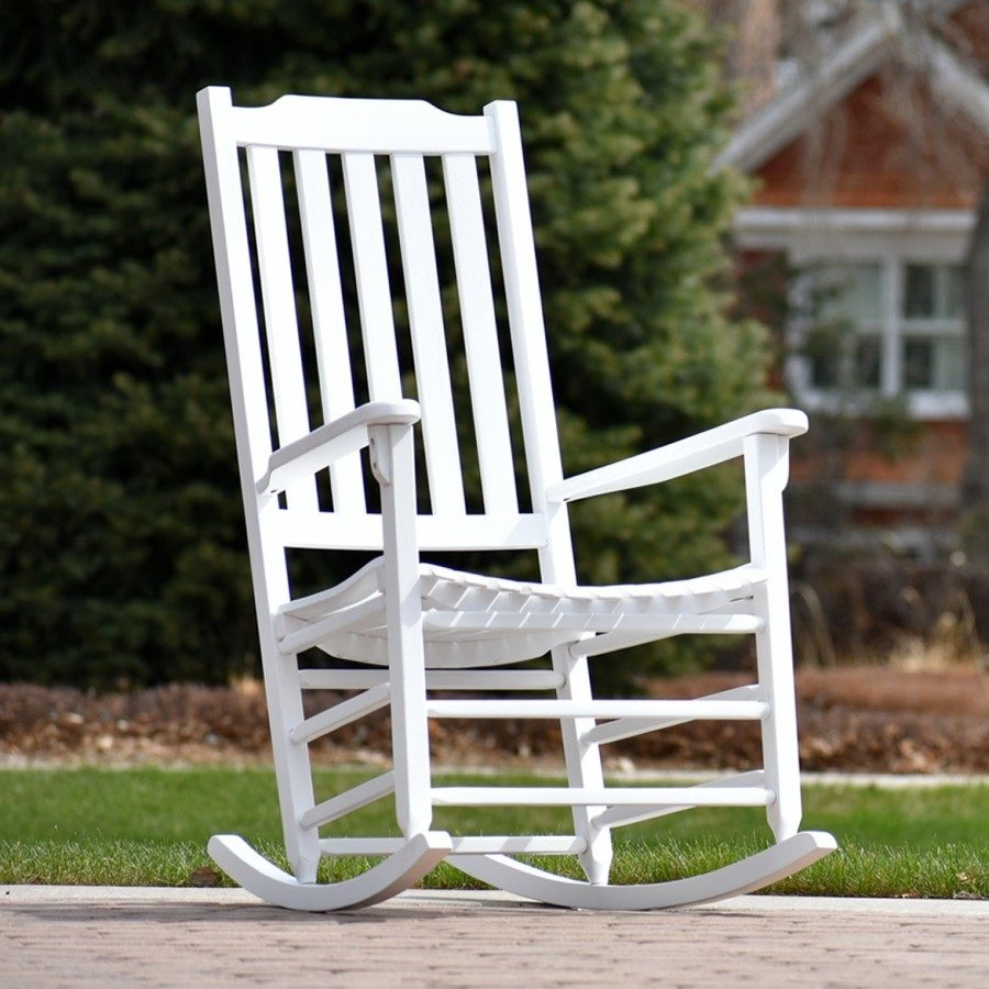 Americana Rocker - Painted White by Frontera Furniture Company