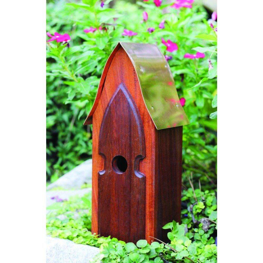 Heartwood Arrowhead Lodge Birdhouse  by Heartwood