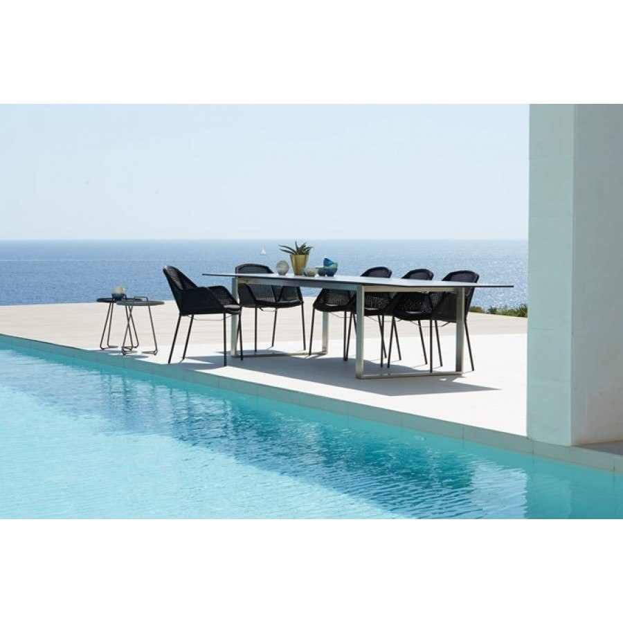Cane-line Edge Dining Table  by Cane-line