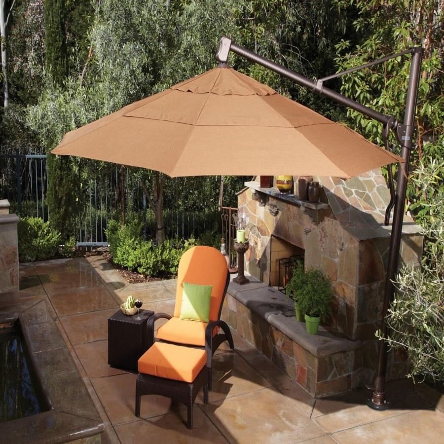 treasure garden 11 octagonal cantilever umbrella by treasure garden - Treasure Garden Umbrella