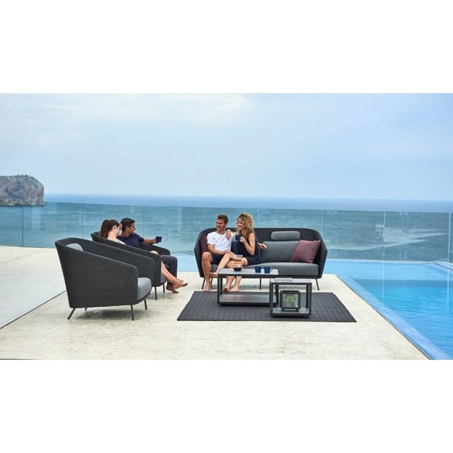 Cane-line Mega Lounge Chair  by Cane-line
