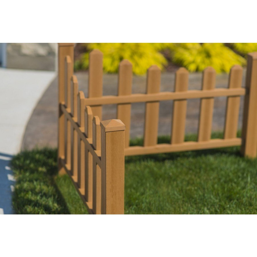 country corner picket fence composite