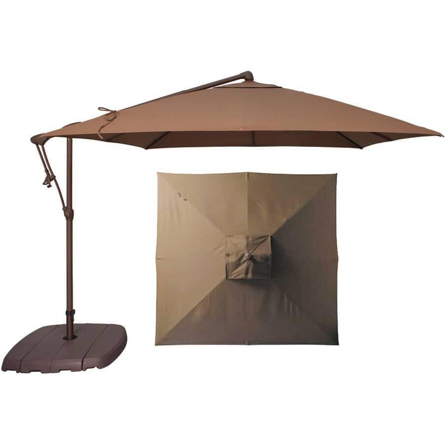 treasure garden 85 canitlever umbrella by treasure garden - Treasure Garden Umbrella