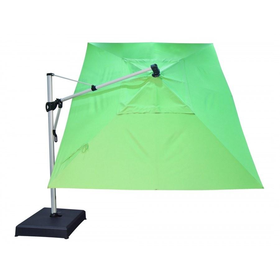 Treasure garden 10 39 x13 39 cantilever rectangular umbrella for Treasure garden cantilever umbrella 13