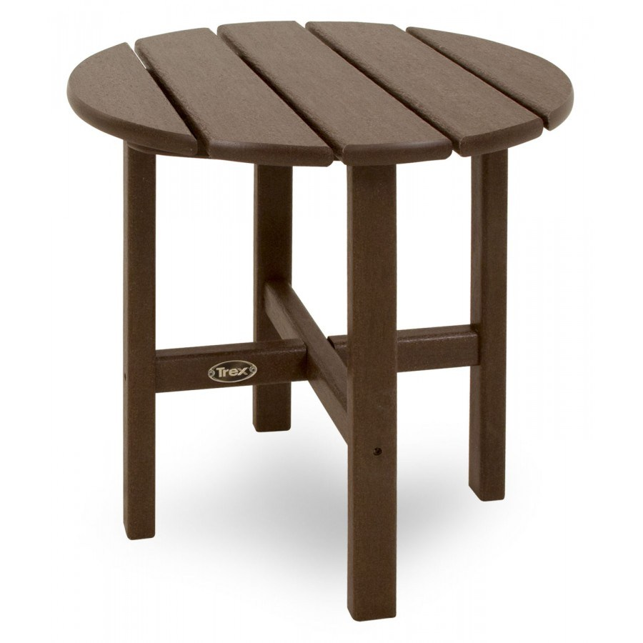 Trex 174 Outdoor Furniture Cape Cod Round 18 Side Table