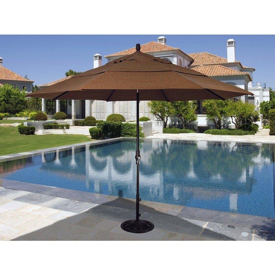 treasure garden 11 collar tilt market umbrella by treasure garden - Treasure Garden Umbrella