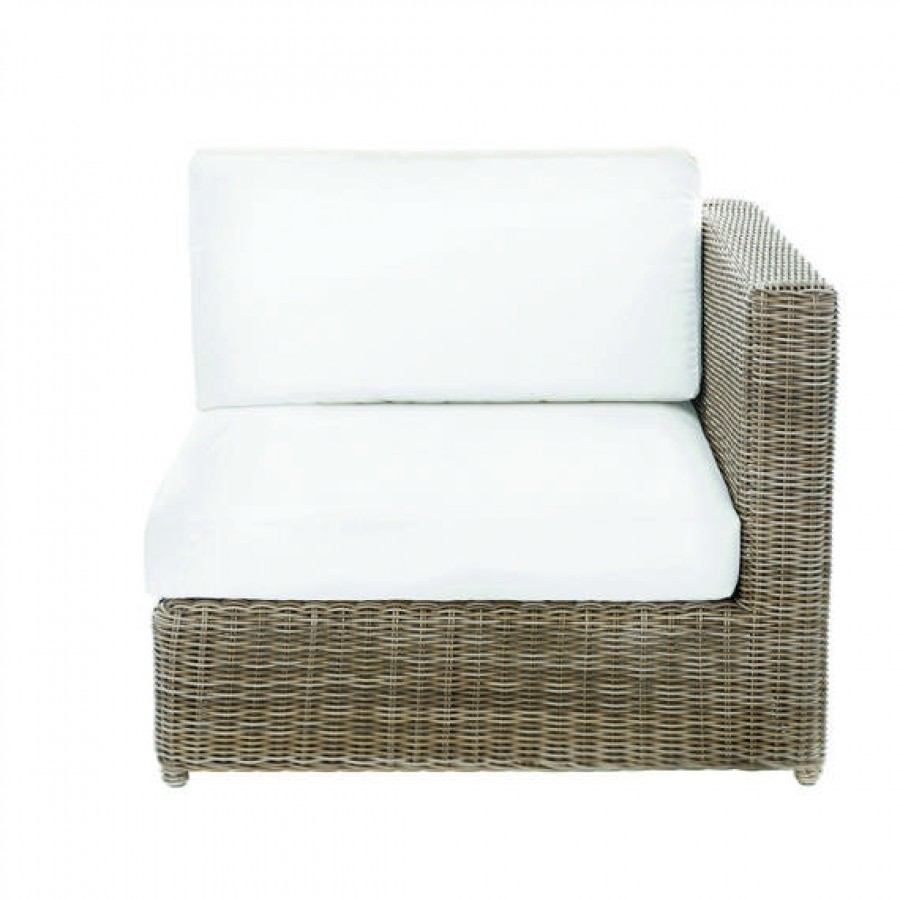 Sag Harbor Woven Sectional left/right End Chair