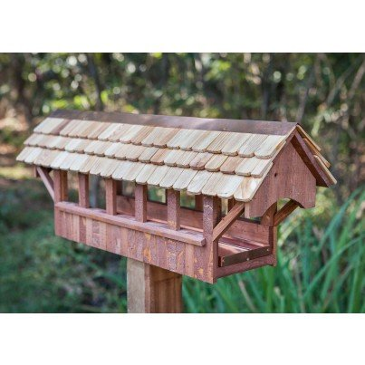 Heartwood Covered Bridge Bird Feeder  by Heartwood