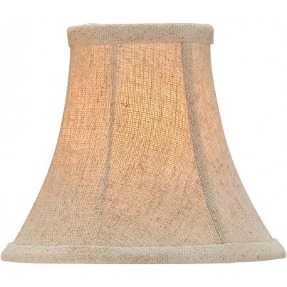 Currey & Company Natural Linen Shade, Medium  by Currey & Company
