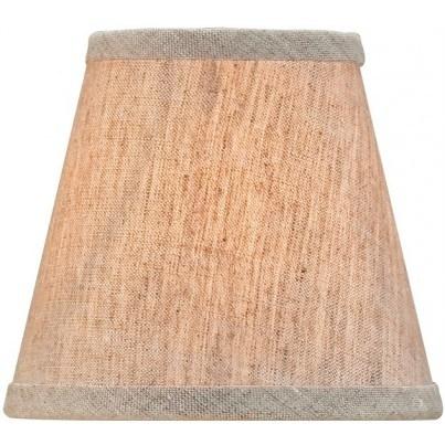 Currey & Company Natural Linen Shade, Small  by Currey & Company