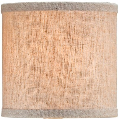 Currey & Company Natural Linen Shade  by Currey & Company