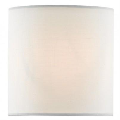 Currey & Company White Cotton Shade   by Currey & Company