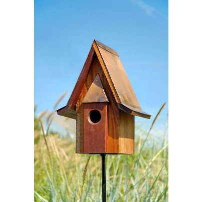 Heartwood Mahogany Chateau Birdhouse  by Heartwood