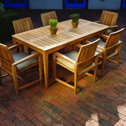 Kingsley Bate Amalfi Teak Dining Collection - Build Your Ensemble  by Kingsley Bate